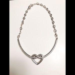 Brighton Collectibles Heart Loop Necklace